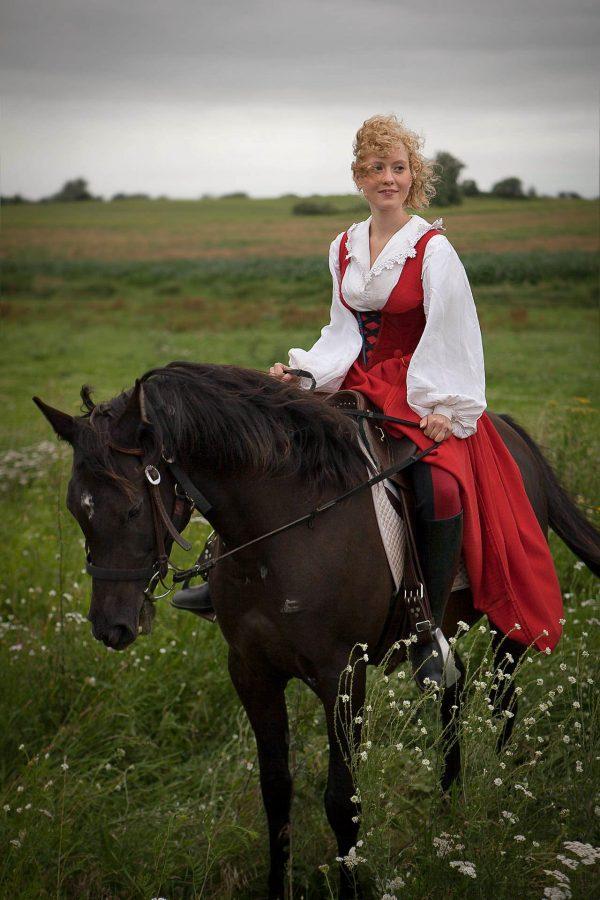 Lisenka Sedlacek, Actress. Waren / Müritz, Germany 2011*Lisenka Sedlacek, Schauspielerin. Waren / Müritz, Deutschland 2011